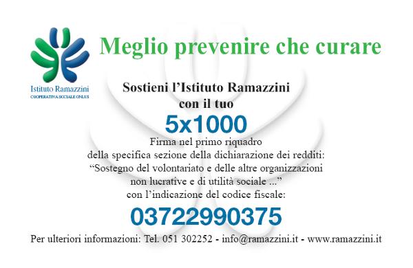 Dona il 5×1000 all'Istituto Ramazzini