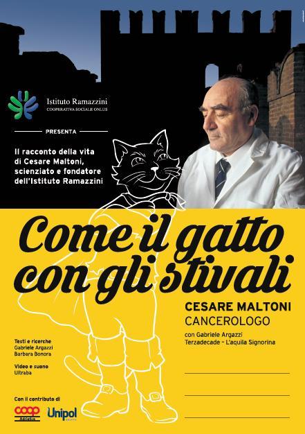 Il tour dello spettacolo su Cesare Maltoni