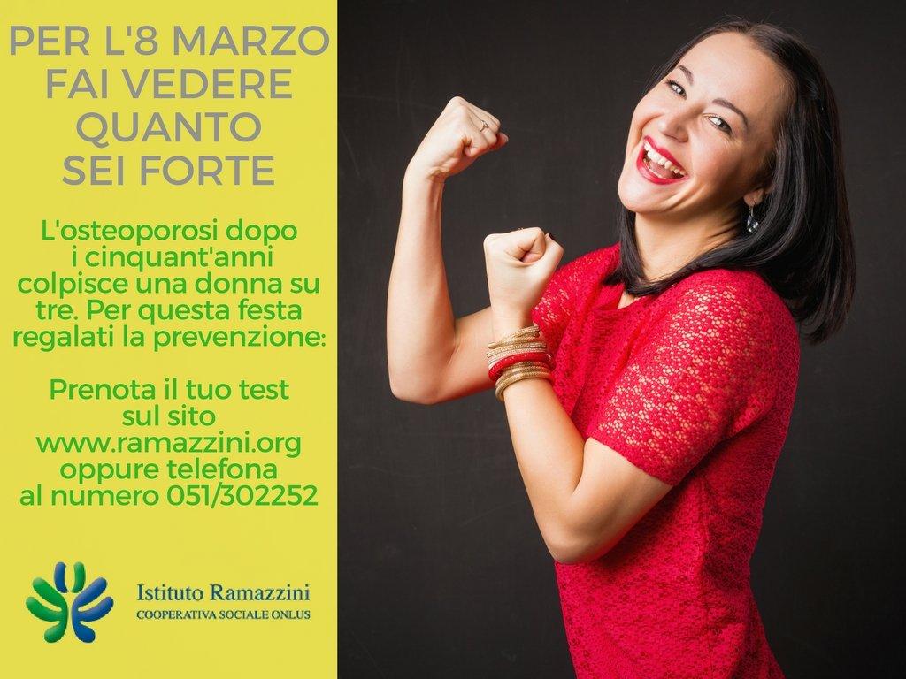 Festa della donna, al Poliambulatorio Ramazzini screening gratuito contro l'osteoporosi