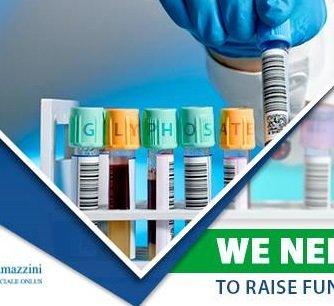 Glifosato, l'Istituto Ramazzini lancia una campagna di crowdfunding