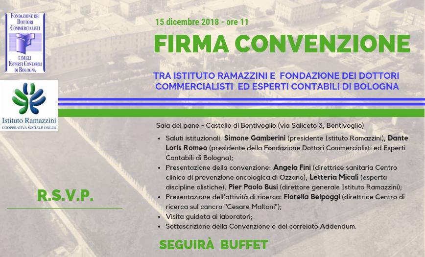 Convenzione con la Fondazione dei Dottori Commercialisti ed Esperti Contabili