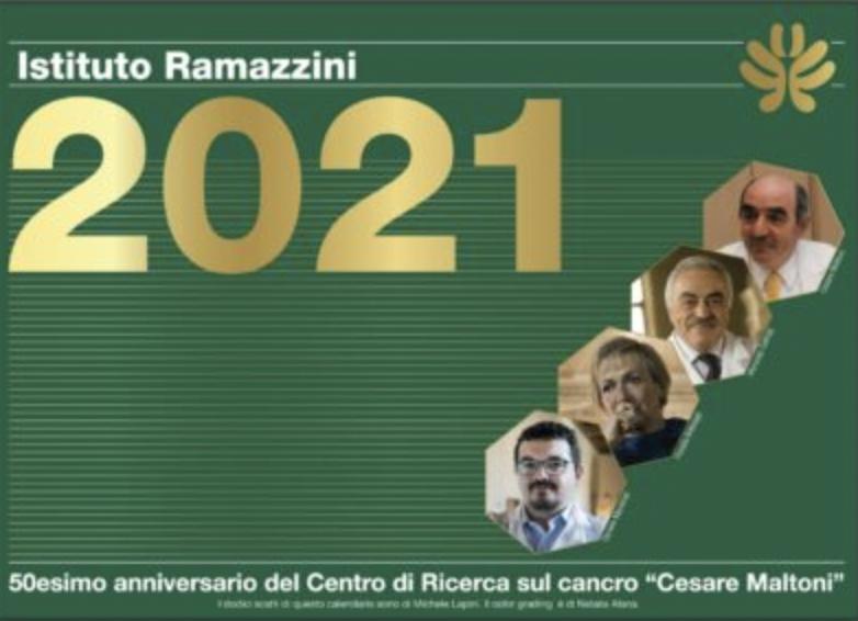Il calendario 2021 del Ramazzini per celebrare i 50 anni del Centro di ricerca